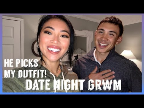 DATE NIGHT MAKEUP GET READY WITH US! | Mini Vlog