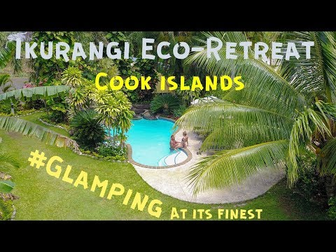 Where to Stay in Rarotonga, Cook Islands: Glamping Tent at Ikurangi Eco Retreat