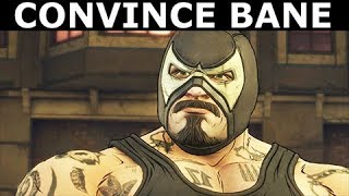 Convince Bane To Vote For Bruce - BATMAN Season 2 The Enemy Within Episode 2: The Pact