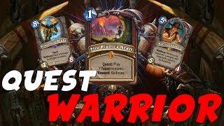 Quest Taunt Warrior | Versione da top tier 1 [Season terminata legend #500 con questo deck]