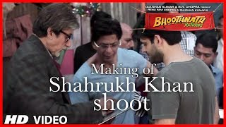 Shahrukh Khan Shooting for Bhoothnath Returns | Exclusive Video