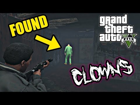 GTA 5 - NEW MYTH: Clowns