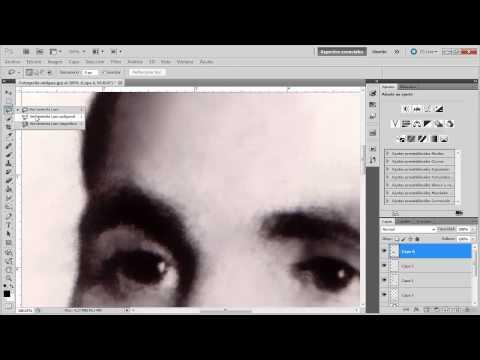 Tutoriales Photoshop ( Restauracion de Fotos Antiguas)