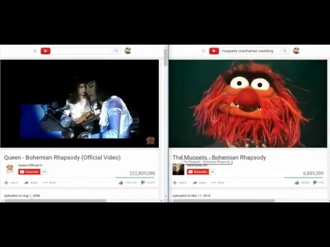 Bohemian Rhapsodies - Queen Vs. The Muppets
