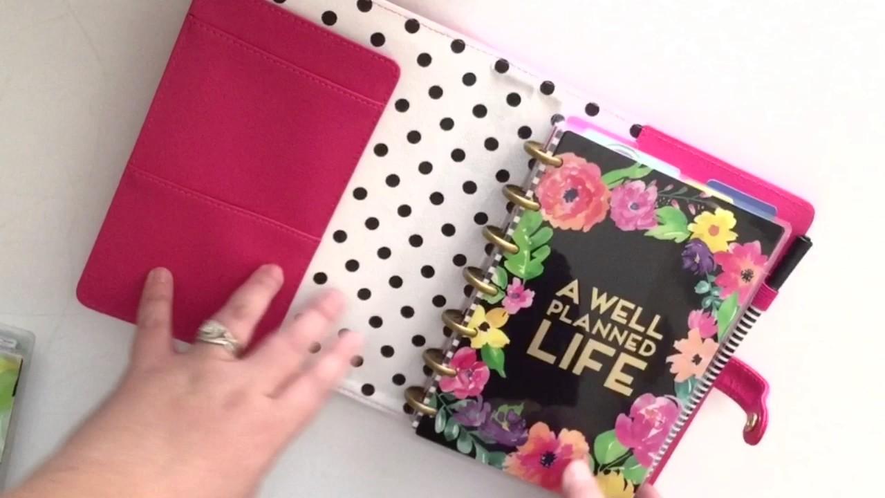 How I Set Up My mini Happy Planner™