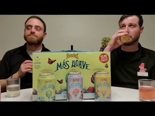 Founders Mas Agave Hard Seltzer Review
