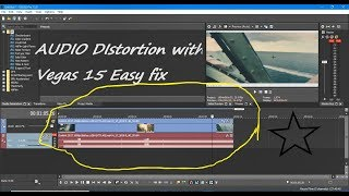 How to fix Game dvr videos audio problem/distortion in Sony Vegas pro 15