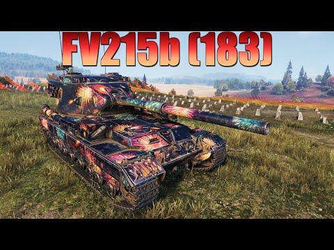 FV215b (183), НЕ ХУЖЕ ЛУПИТ ЧЕМ FV4005 Stage II