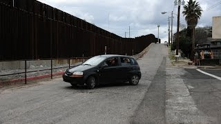 Mexico Border at Nogales, AZ & Boarder Patrol near Rio Rico