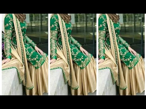2019 Latest Beautiful Gharara / Sharara Pakistani Dress Designs Ll New Gharara / Sharara Collection