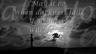 Enya - May It Be Lyrics