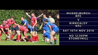 Tennents National Division 1 2018/19 - Musselburgh RFC vs Kirkcaldy