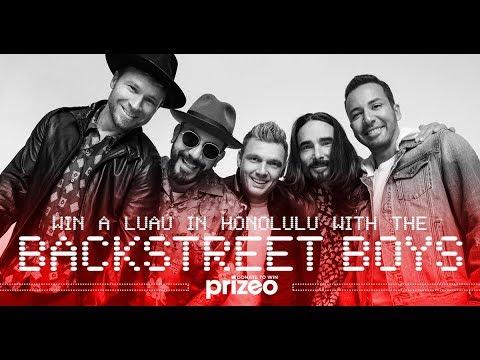 Mark - The Backstreet Boys fight homelessness offering a Hawaiian trip
