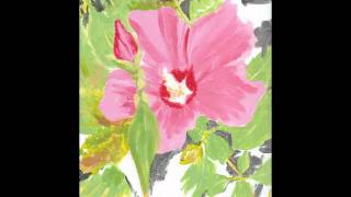 How to Paint a Rose of Sharon
