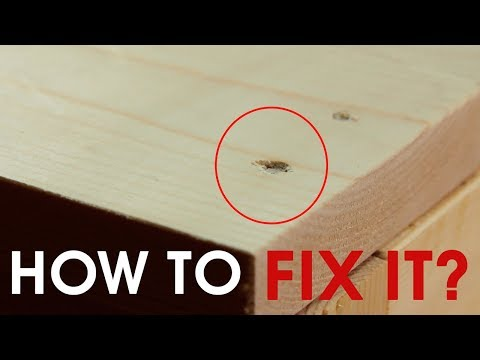 How to Repair Wood Scratches Chips and Dents | 1 Minute Lifehacks
