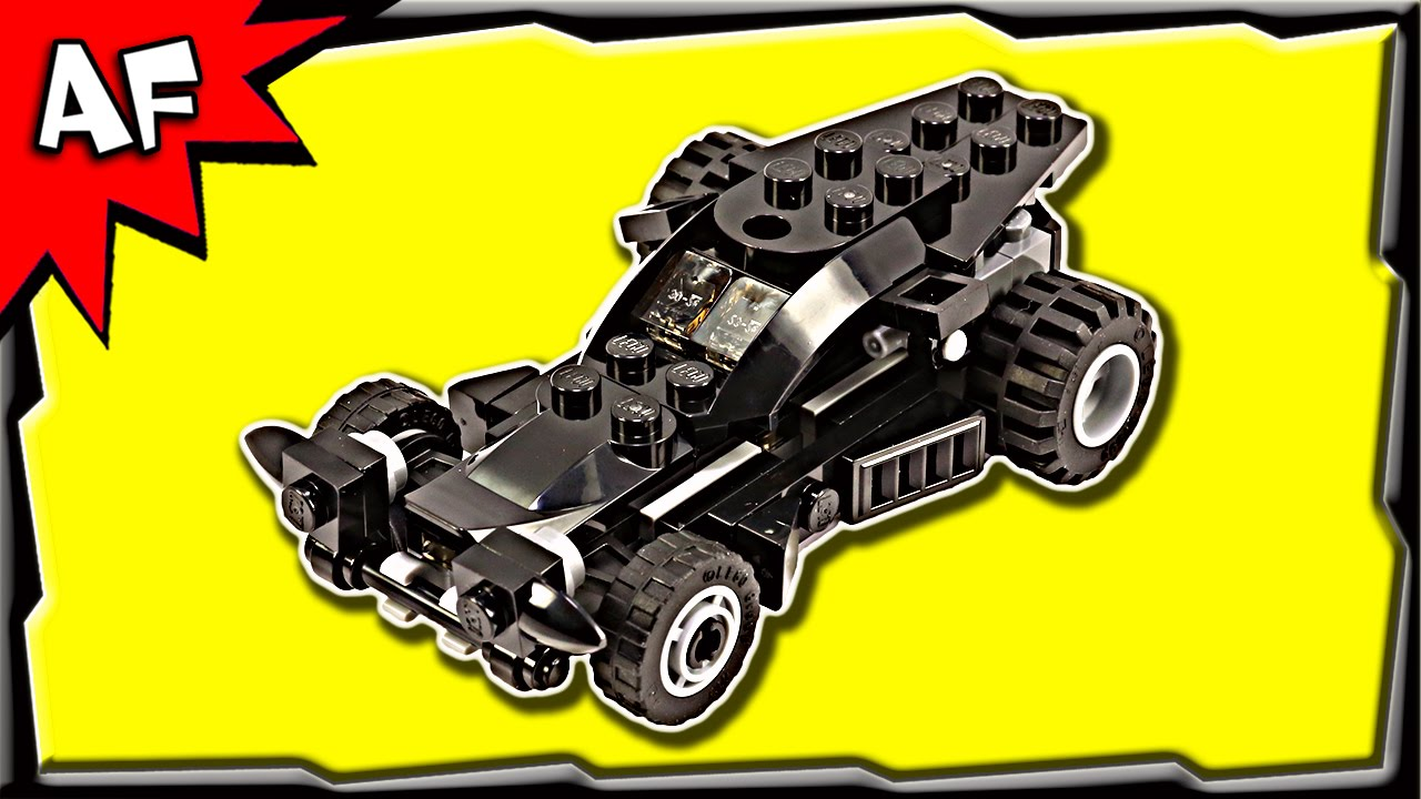 lego batman v superman mini batmobile 30446 stop motion. Black Bedroom Furniture Sets. Home Design Ideas