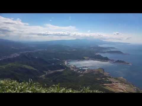 2016.07.04_雞籠山頂遠眺~天空卻發出怪聲(Taiwan Jiufen Keelung Mountain Strange Sounds in the Sky)