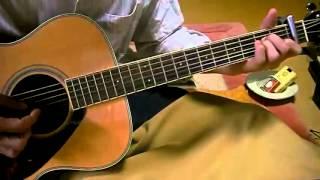 素人のギター弾き語り キイハンターOP(非情のライセンス) 野際陽子 詞・...