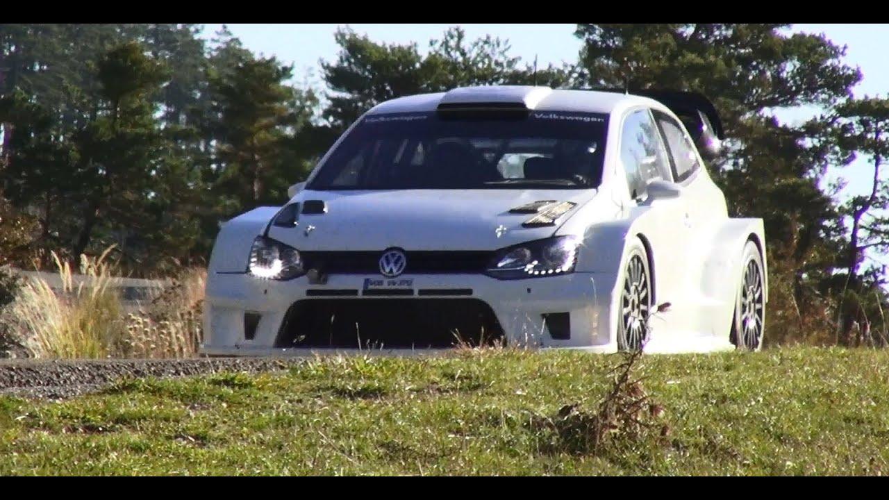 Tests Volkswagen Polo R WRC 2017 M.Grönholm - YouTube
