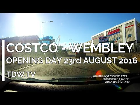 New Costco Wembley Opening Day Tour 23/08/2016 thumbnail