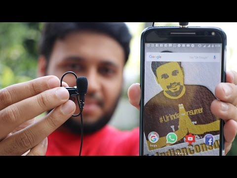 Rode smartLav+ Lavalier Microphone for Mobile phones [Sound/Audio Test]