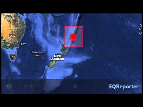 M 5.7 EARTHQUAKE - SOUTH OF THE KERMADEC ISLANDS 06/22/12