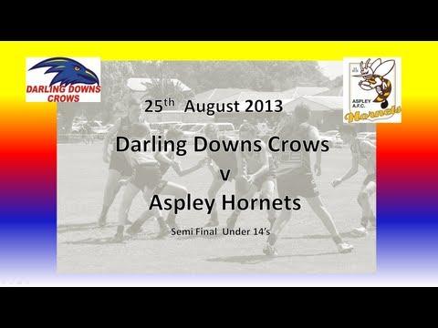 Darling Downs v Aspley U14's Semi Final 25 8 13