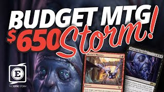 Budget MTG — $650 Legacy Combo deck? Peer into the Abyss + Mizzix's Mastery & NO Lion's Eye Diamond!