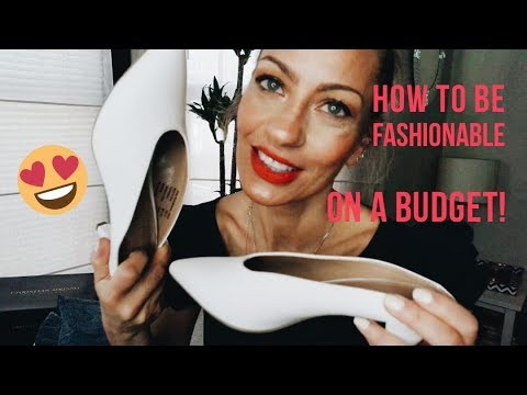 How To Be Fashionable On A BUDGET! Inexpensive Stores And Used Clothing! Fashion Over 50