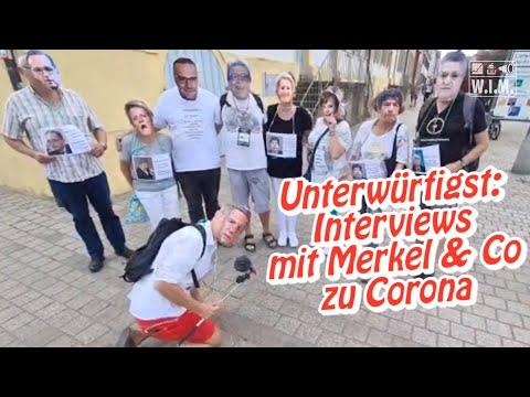 Unterwürfigste ARD-ZDF-Interviews jemals! Merkel, Drosten, Spahn & co (Satire)