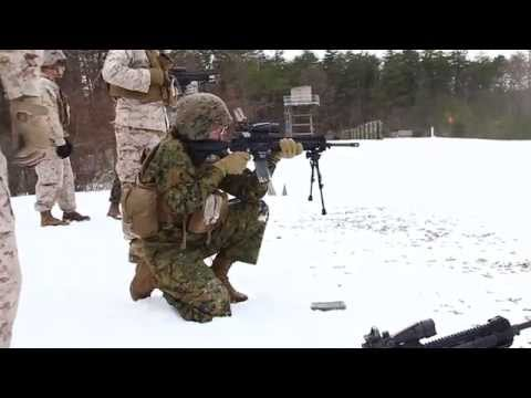 M27 Infantry Automatic Rifle Field Fire Exercise