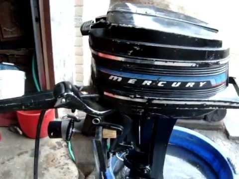 4 5 hp mercury shorty tiller 1976 outboard motor youtube for Mercury 4 hp boat motor