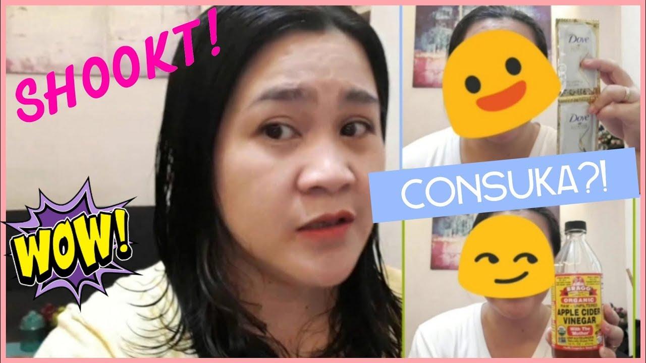 CONSUKA(Conditioner + Apple Cider Vinegar)/EFFECTIVE BA?/DIY Hair