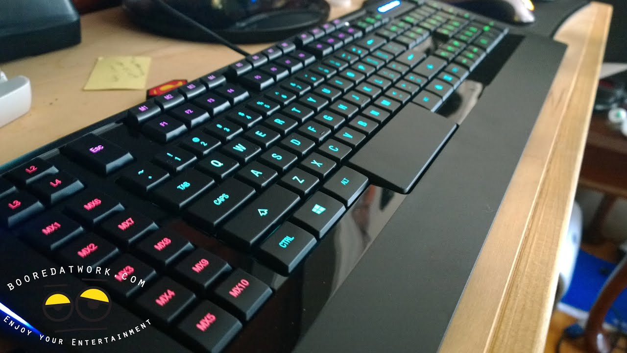 rgb tangentbord