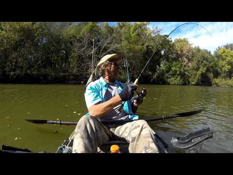 Fort Parker State Park Kayak Fishing