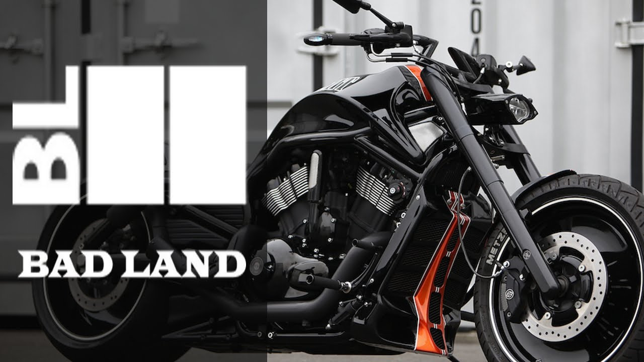 Harley Davidson Night Rod Special 300 Wide by Bad Land | Motorcycle Muscle Custom Review