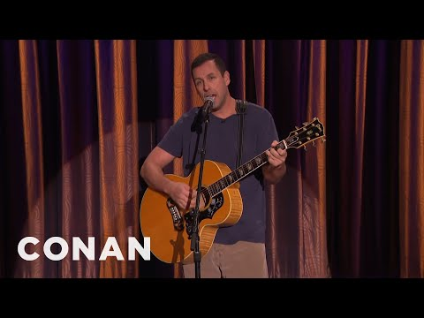 "Adam Sandler Sings ""My Old Chair""  - CONAN on TBS"