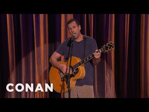 """Adam Sandler Sings """"My Old Chair""""  - CONAN on TBS"""