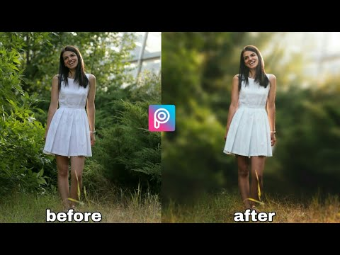 How To Edit Color Tone And Blur Photo - Picsart Tutorial