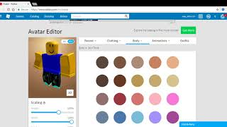 How to get the roblox noob skin FOR FREE