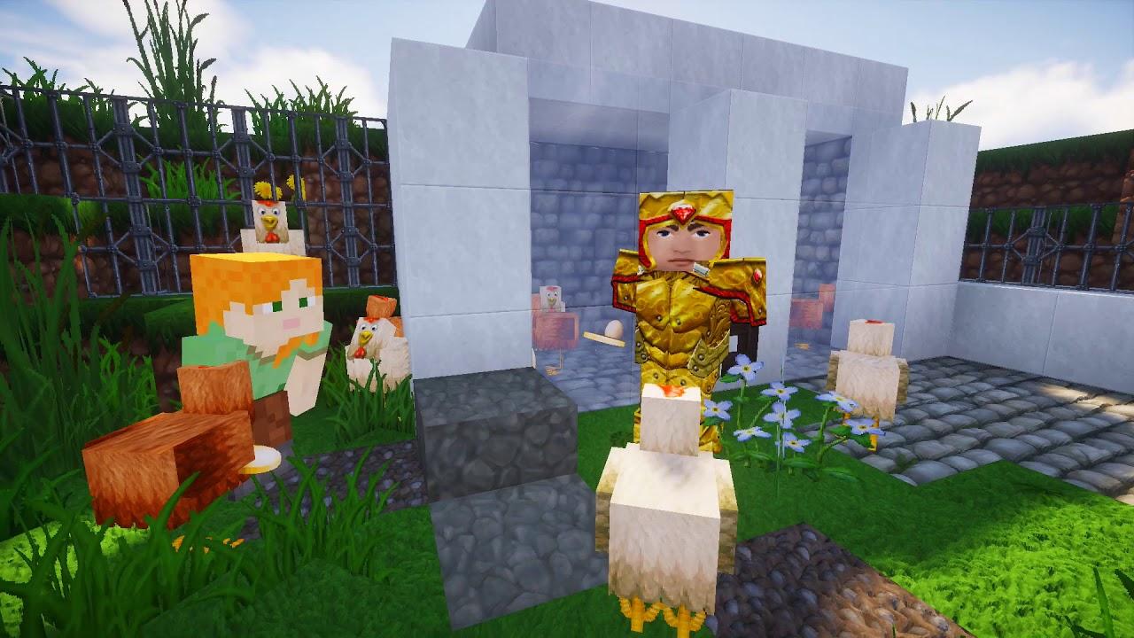 Los huevos son de las gallinas | Minecraft edition