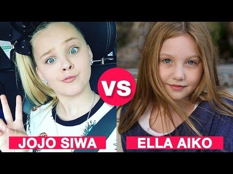 JoJo Siwa VS Ella Anderson ★ Battle Musers ★ Musical.ly Compilation 2017