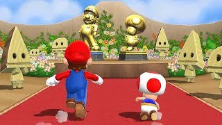 Mario Party 9 Step It Up - Mario vs Luigi vs Peach vs Toad