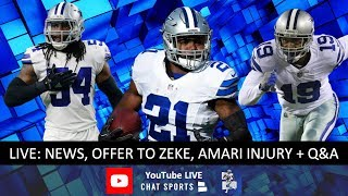Dallas Cowboys News, Rumors, Ezekiel Elliott Contract Offer, Amari Cooper Injury & Donovan Wilson