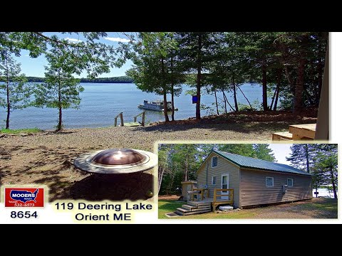 Waterfront 119 Deering Lake Property For Sale | MOOERS REALTY #8654