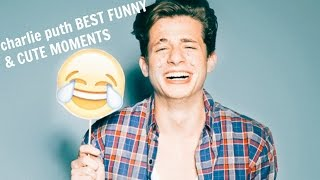 Gambar cover charlie puth BEST FUNNY & CUTE MOMENTS