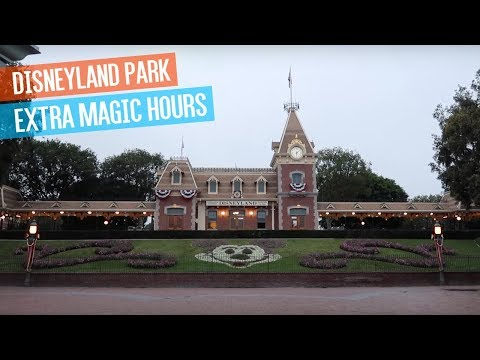 Disneyland Park Extra Magic Hours, Space Mountain, Matterhorn, Big Thunder & More!