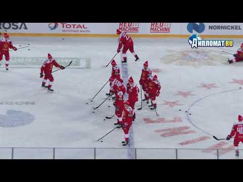 Хоккей «Русская классика 2019». Россия vs Финляндия