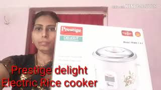 Prestige delight Electric Rice cooker Review and Demo 2019