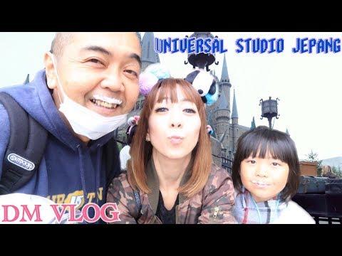 VLOG#140 H1-UNIVERSAL STUDIO JAPAN HOLIDAY 